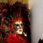 Venice Carnival Celebration Event in Saint Mark Square — Stock Photo #11555766