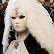 Stock Photo: Venice Carnival Celebration Event in Saint Mark Square