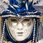 Venice Carnival Celebration Event in Saint Mark Square — Stock Photo #11556170