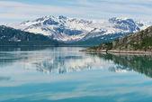 Gletscher-bucht — Stockfoto