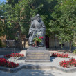 Monument to St. John of Kronstadt in Kronstadt — ストック写真