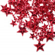 Background with red stars — Stock Photo