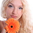Beautiful blonde young woman — Stock Photo #11993322