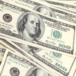 Dollars banknotes background — Stock Photo