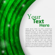 Green vector card — Vector de stock #10924104