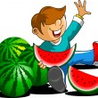 Watermelon — Stock Vector #11118718