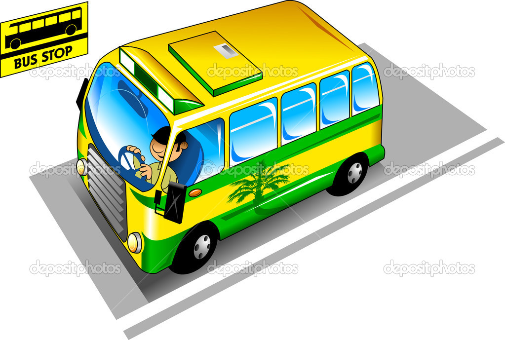 Bus Stop ad Vector The Bus Stop Vector by