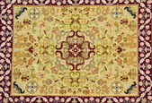 Traditional carpet of portuguese manufacturer — Stock Photo