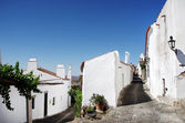Streets of Monsaraz village — Stock Photo