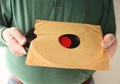 Usuwanie starych gramofonowa z tuleją — Zdjęcie stockowe