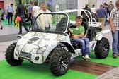 автомобильная выставка — Стоковое фото