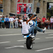 Bikers meeting and show on Kiev City Day - Stock Photo