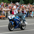 Bikers meeting and show on Kiev City Day — ストック写真