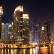 Stock Photo: Dubai city at night