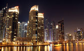 Dubai city at night — Stock Photo