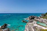 залив подковы на бермудских островах — Стоковое фото