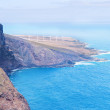 Landscape with cliff and sea. Tenerife, Canary Islands, Spain — Stock Photo