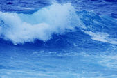Abstract background with ocean wave — Stock Photo
