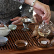 Traditional tea ceremony — Stock fotografie