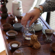 Traditional tea ceremony — Stockfoto