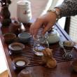 cérémonie traditionnelle du thé — Photo
