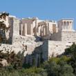 Ancient ruins on Acropolis of Athens, Greece — Stock Photo #11644246