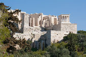 Ancient ruins on Acropolis of Athens, Greece — Stock Photo
