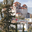 Agia Marina Greek orthodox church - Stock Photo