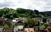 Village in the ardennes — Stock Photo