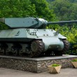 WW2 tank on display — Stock Photo #11824859