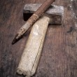 Royalty-Free Stock Photo: Hammer and chisel
