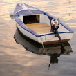 Anchored boat — Stock Photo #12235470