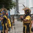 Stock Photo: Street performers