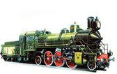 Locomotive C-245 — Stock Photo