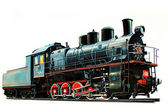 Locomotive E-1441 — Stock Photo
