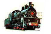 Locomotive El-2500 — Stock Photo