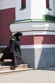 Ortodoxní jeptiška — Stock fotografie