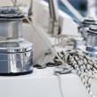Stock Photo: Boat equipment