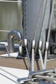Liny łódź — Zdjęcie stockowe