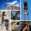 Stock Photo: Construction industry collage