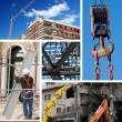 Construction industry collage — Stock Photo #11993976