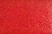 Red Ethnic Fabric Design — Stock Photo