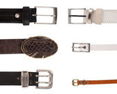 Six different buckles — Stock Photo