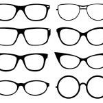 Set of eyeglasses — Stock Vector #12088184