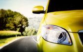 Car on the road. — Zdjęcie stockowe