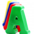 Close-up of letters. Great details ! — Stock Photo #11262006
