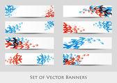 Arrow banners — Stock Vector