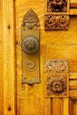 Beehive House Doorknob — Stock Photo