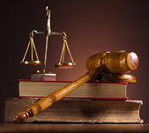 Gavel — Stock Photo