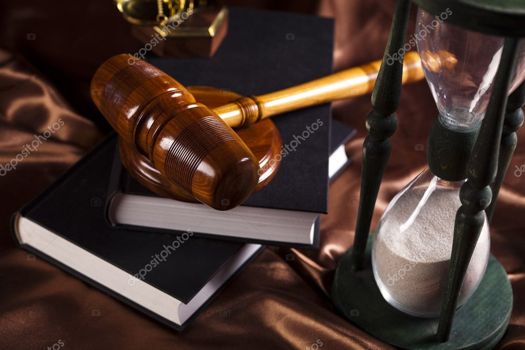 Law and justice concept — Foto Stock #11277869